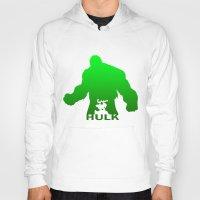 hulk Hoodies featuring Hulk by Sport_Designs