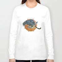 jaguar Long Sleeve T-shirts featuring Jaguar by Quentin Bartholomew