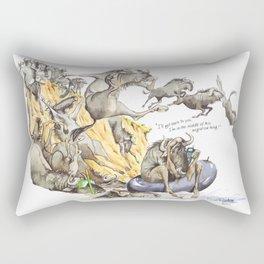 migration Rectangular Pillow