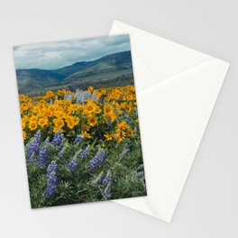 Oregon Spring Wildflower Hillside Stationery Cards