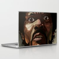 pulp fiction Laptop & iPad Skins featuring Pulp Fiction - Jules Winnfield by Diego Pardo