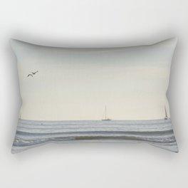 Sailing Dana Point Rectangular Pillow