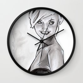 Smiles Wall Clock