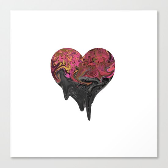 Feelings Canvas Print