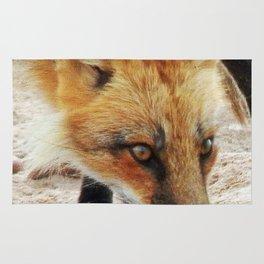 Fox Portrait Rug
