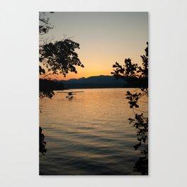Hood Canal Sunset Canvas Print