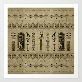 Egyptian Mut Ornament Art Print