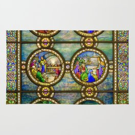 Louis Comfort Tiffany - Decorative stained glass 10. Rug