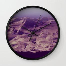 Turoa Skifield Wall Clock