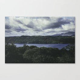 Moody Lake Windermere - Landscape and Nature Photography Canvas Print