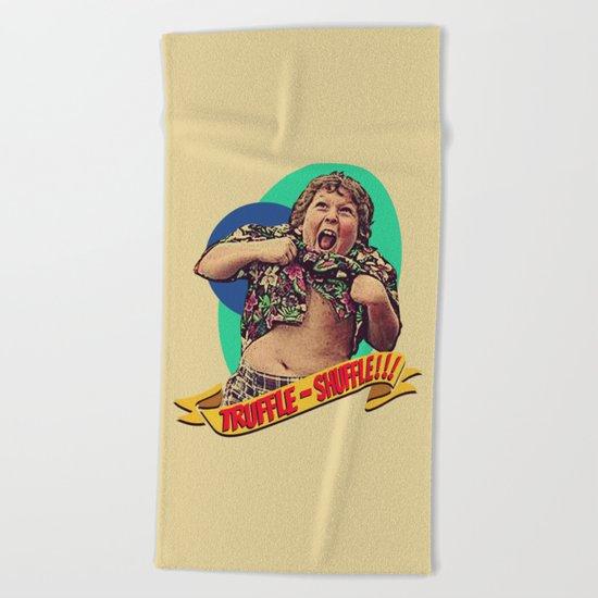 Truffle Shuffle! Beach Towel