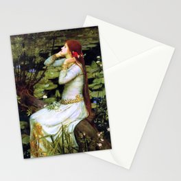 Ophelia by the Water Stationery Cards