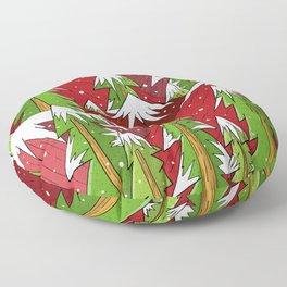 Xmas Mounts Floor Pillow