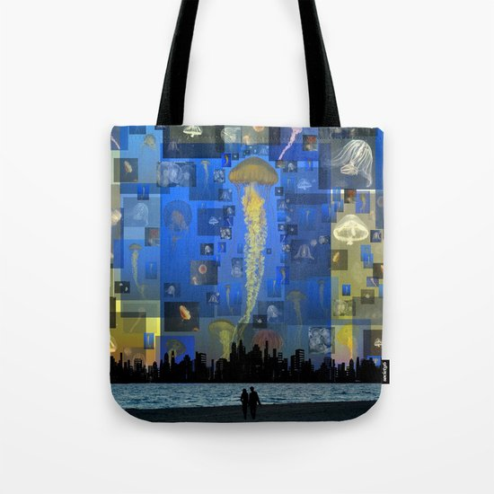 Our Jellyfish Sky Tote Bag