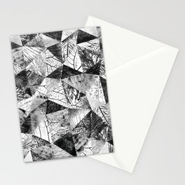 Geometric Nature Stationery Cards