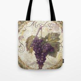 Tuscan Table Merlot Tote Bag