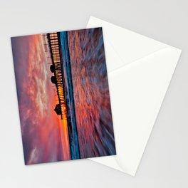 HB Sunsets 12/18/14  Stationery Cards