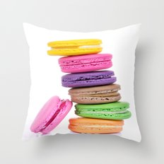 MacaroonS Colorful Throw Pillow