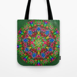 Magic butterfly circle Tote Bag