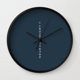 ..just neuralmimicry no.3 Wall Clock