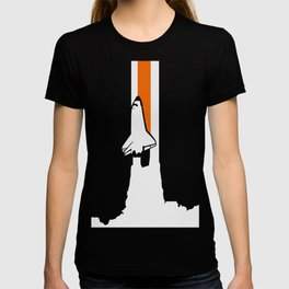 Launch me - The Final Flight of the Space Shuttle T-shirt