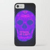 calavera iPhone & iPod Cases featuring Calavera by Joe Baron