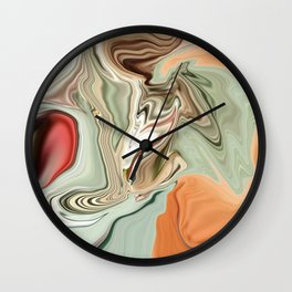 Gondola Golden Hour Wall Clock