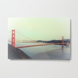 GOLDEN GATE BRIDGE - 4 Metal Print