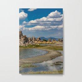 Mono Lake, California - III Metal Print