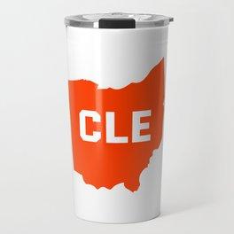 Ohio Cleveland Travel Mug