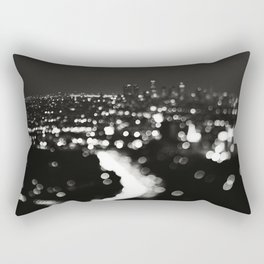 Los Angeles cityscape. L.A. Noir Rectangular Pillow