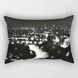 Los Angeles cityscape. L.A. Noir Rectangular Pillow