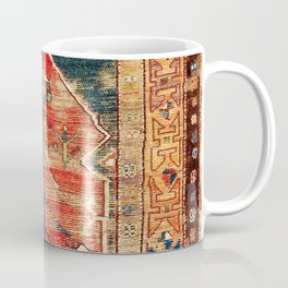 Konya Central Anatolian Niche Rug Print Coffee Mug