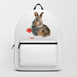 """""""Trouble"""" by Teresa Thompson Backpack"""