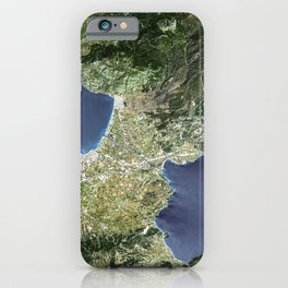 The Isthmus of Corinth has played a very important role in the history of Greece iPhone Case
