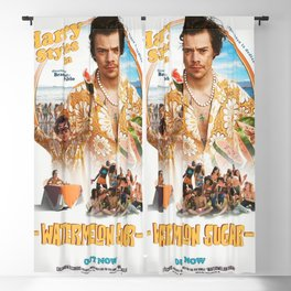 HARRY STYLE IYENG 24 Blackout Curtain