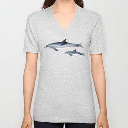 Atlantic spotted dolphin Unisex V-Neck