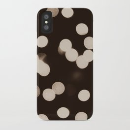 Cool Lights Bokeh iPhone Case