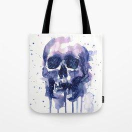 Galaxy Skull Tote Bag