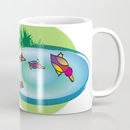 Lucky Ducks Coffee Mug
