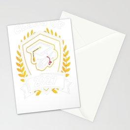 Class-of-2027---Class-of-2027-Graduation-T-Shirt---Sao-chép Stationery Cards