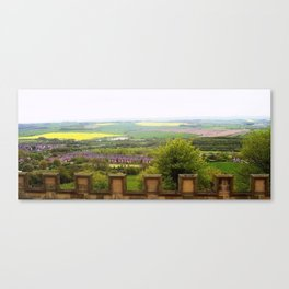 Fields Clapping Canvas Print