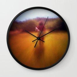 in the field Wall Clock