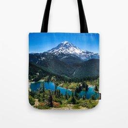 Tolmie Peak Mt Rainier Eunice Lake Tote Bag