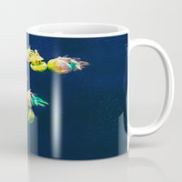 rasta Mugs featuring Rasta Jellies by Heidi Fairwood