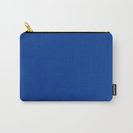 SOLID COLOR ROYAL BLUE Carry-All Pouch