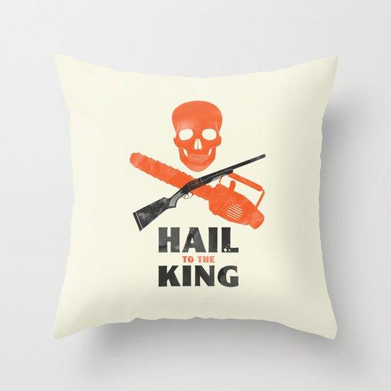 Hail to the King! Throw Pillow