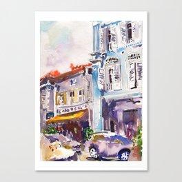 20140331 Amoy Street Singapore Canvas Print