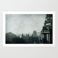 london Art Prints featuring London by Ingrid Beddoes