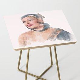 Lina Lamont - Jean Hagen - Singin' in the Rain - Watercolor Side Table